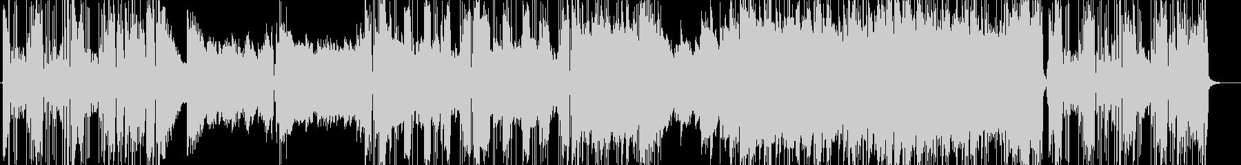 ウーリッツァーピアノのプログレジャズの未再生の波形
