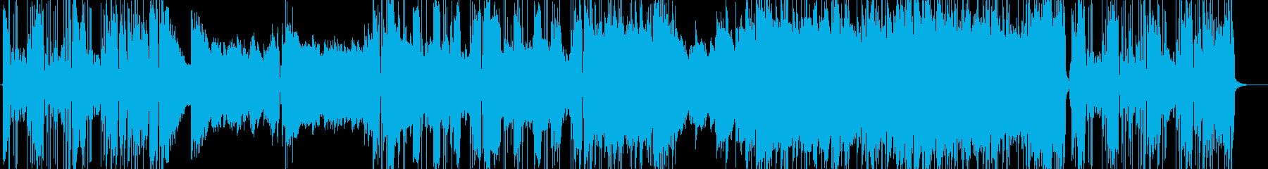 ウーリッツァーピアノのプログレジャズの再生済みの波形