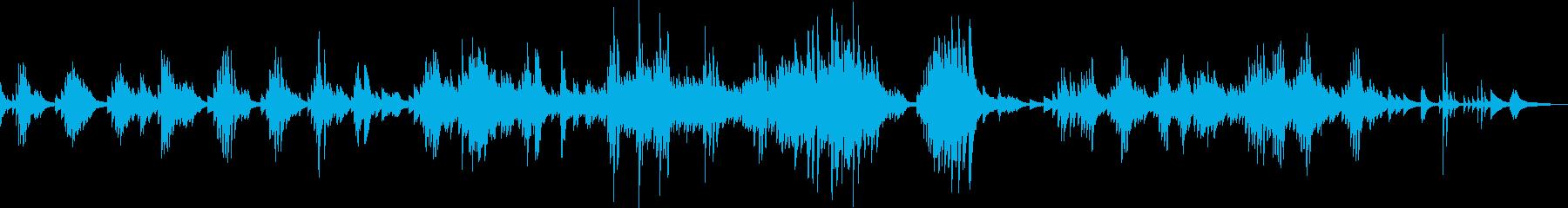 哀愁のピアノ(夜・大人・都会・悲しい)の再生済みの波形