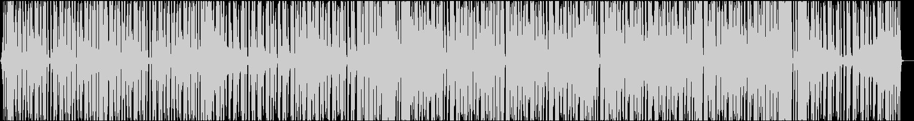 シンプルなディスコの未再生の波形