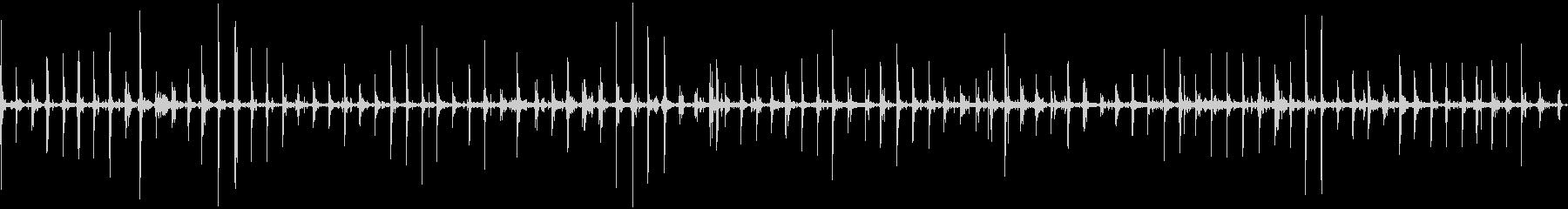 チェーンメールアーマーを着た中世の...の未再生の波形
