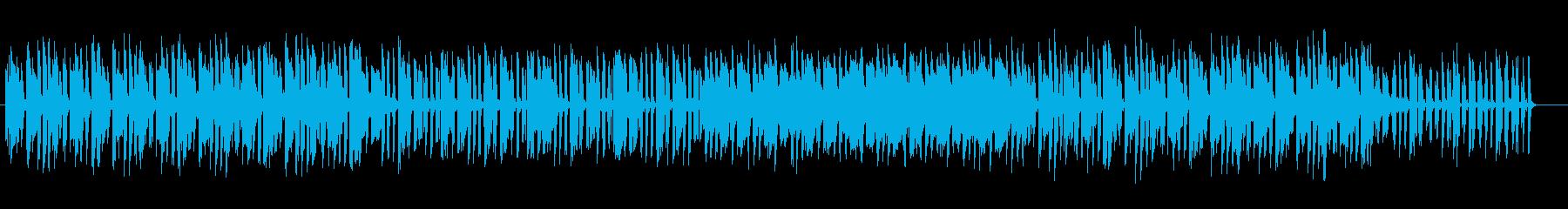 ゲーム、映像の落ち着いた場面に使える曲の再生済みの波形