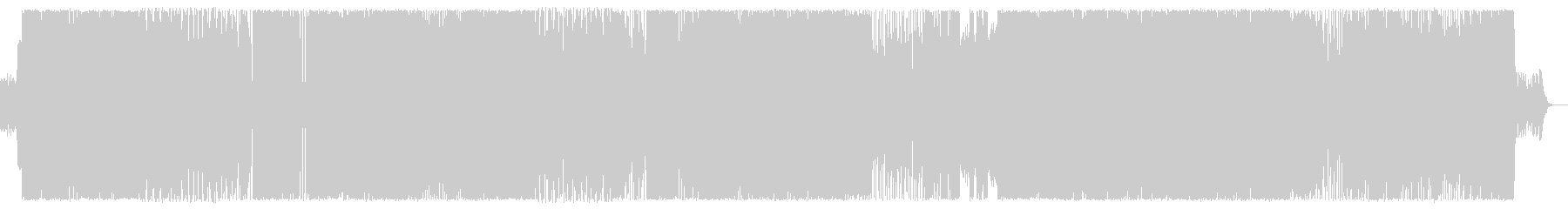 【ヘビネス】重厚で攻撃的、疾走感有りの未再生の波形