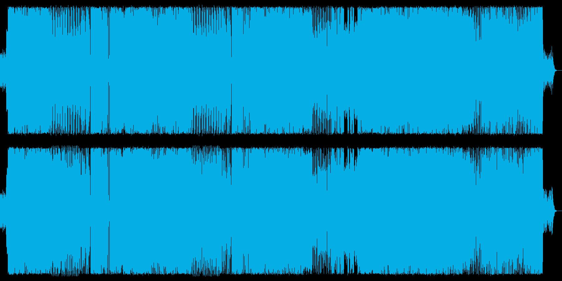 【ヘビネス】重厚で攻撃的、疾走感有りの再生済みの波形