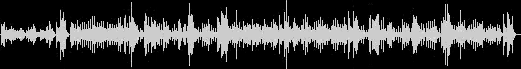 オルゴールの感動シーンの楽曲 劇伴の未再生の波形