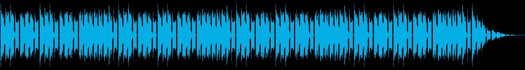GB風RPGのフィールド曲の再生済みの波形