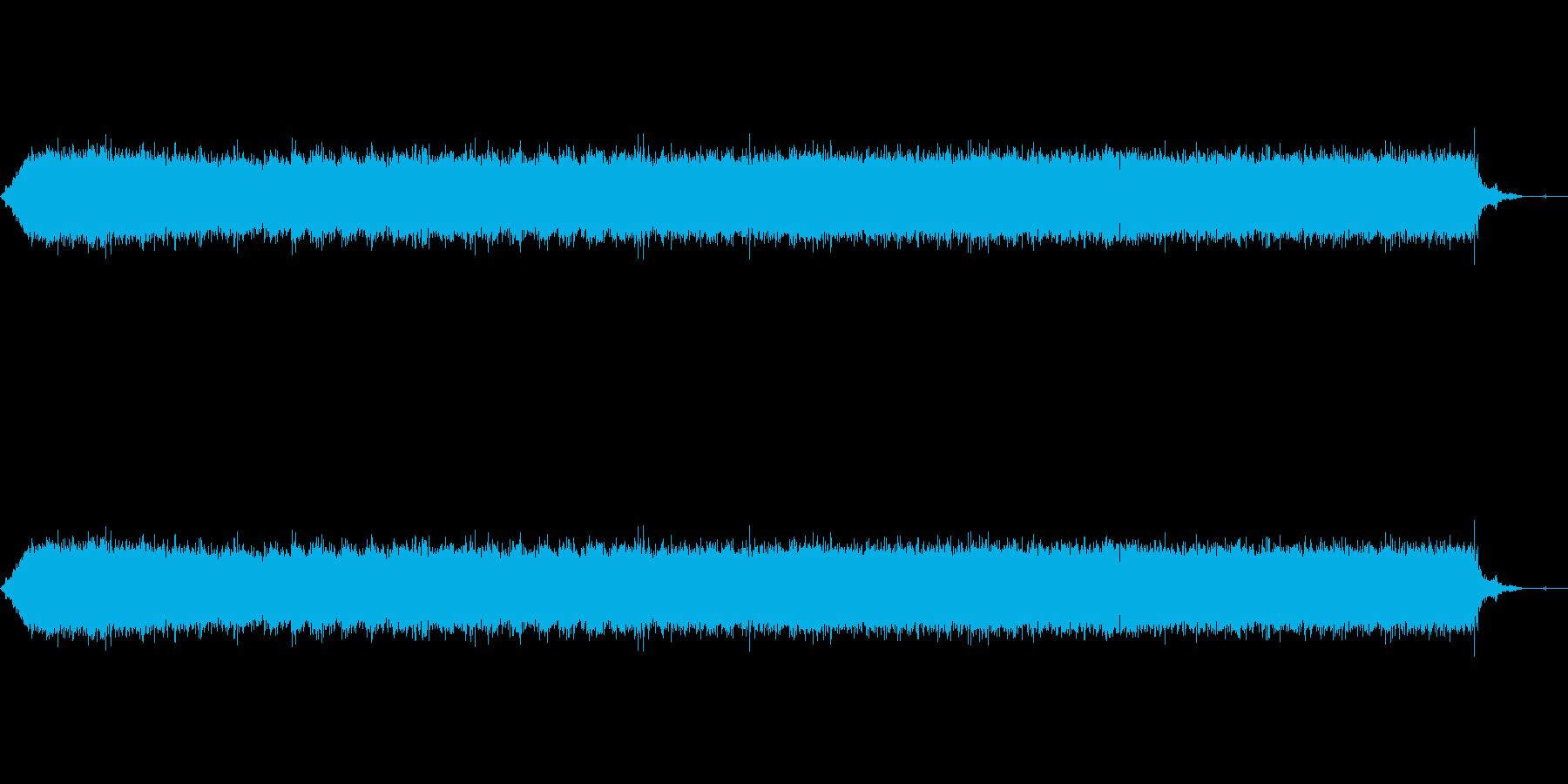 【生音】ガーーーーー!ヘアドライヤーの音の再生済みの波形