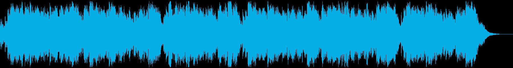 チェロの音色が心地よいリラックス用BGMの再生済みの波形