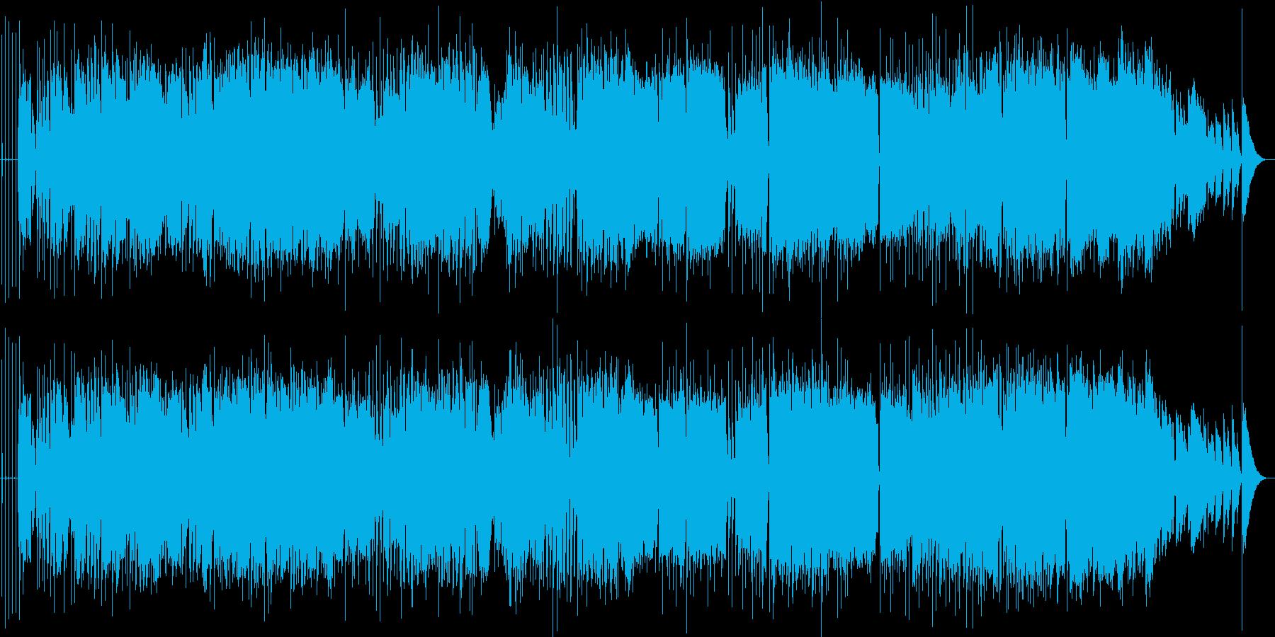 英語洋楽:キラークイーン風 英国ロックの再生済みの波形