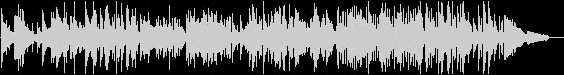 滑らかで暖かいサックスのバラード・ジャズの未再生の波形