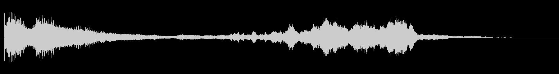 KANT アプリサウンドFX1212の未再生の波形