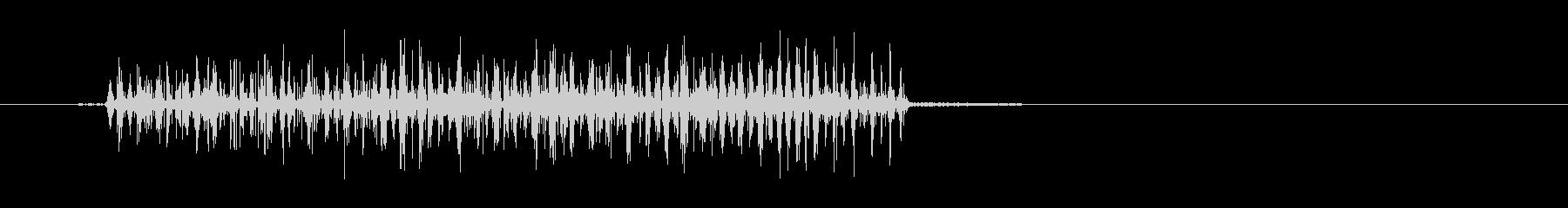 エレクトリックバズシズルの未再生の波形