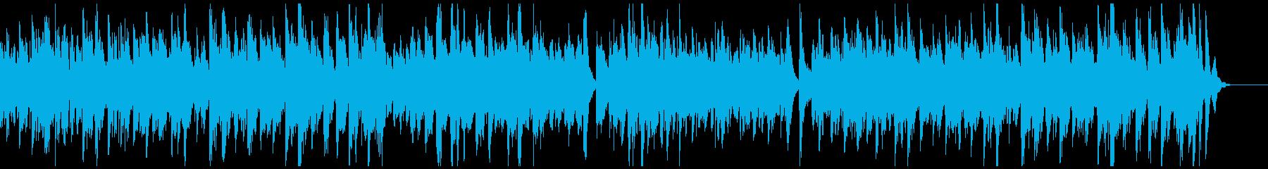 ウキウキ楽しいラグタイム・ピアノの再生済みの波形