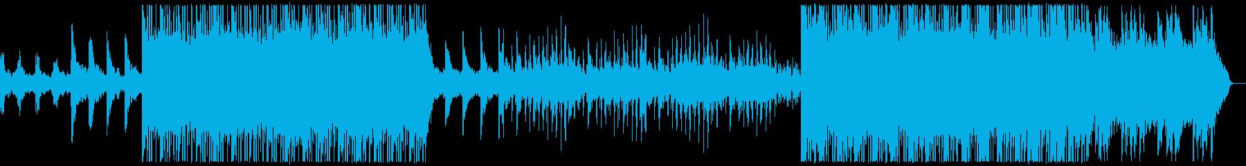 エレクトロニック 静か 気分が良い...の再生済みの波形