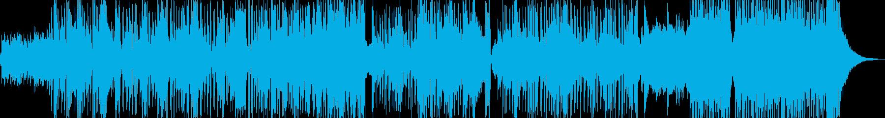 新鮮な空気感の演出・クールなビート Cの再生済みの波形