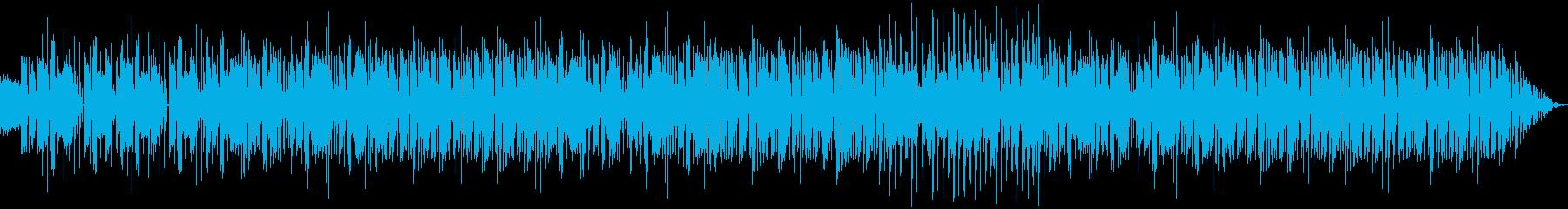 迫力があって独特なリズムなメロディーの再生済みの波形