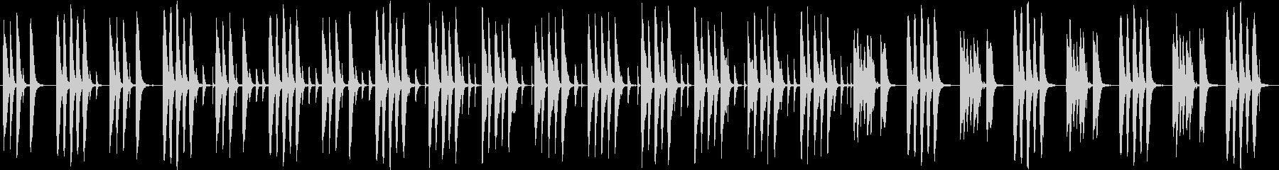 ほのぼのした短めのジングルの未再生の波形