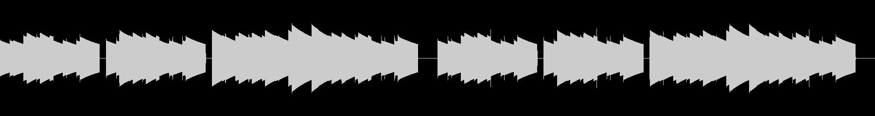 歩行者用信号機の音_故郷の空_01の未再生の波形