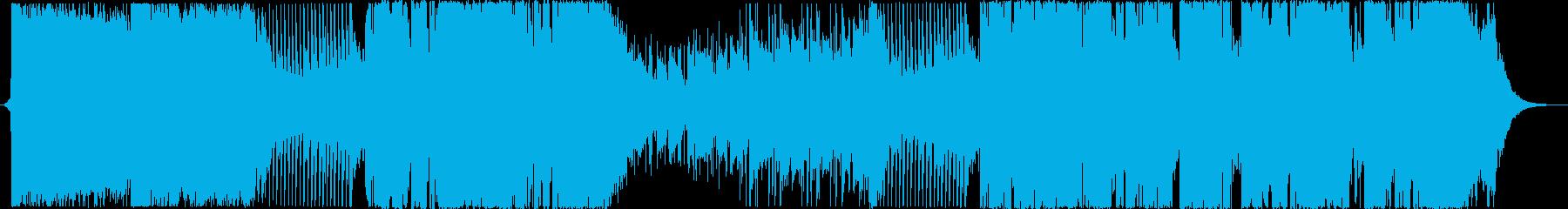 柔らかい始まりのメロディックダブステップの再生済みの波形