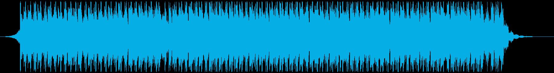 高揚感あふれるポップ(ショート1)の再生済みの波形