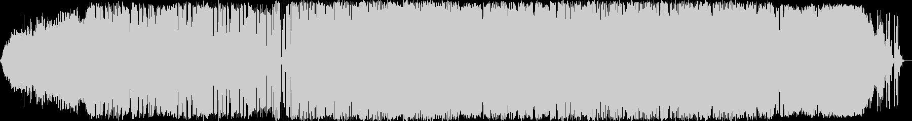 エレクトロニック 説明的 静か a...の未再生の波形