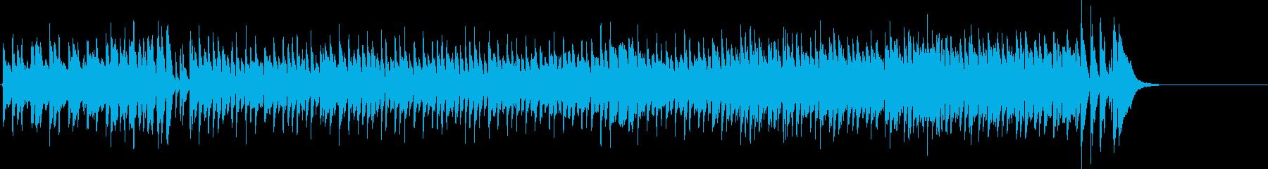 オープニング向けの軽快なポップスの再生済みの波形