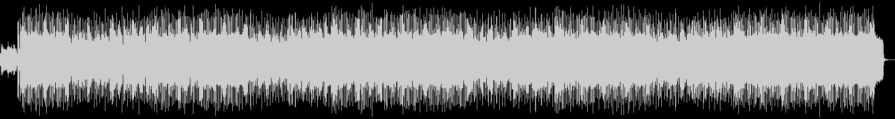 明るい80年代シンセポップ風BGMの未再生の波形