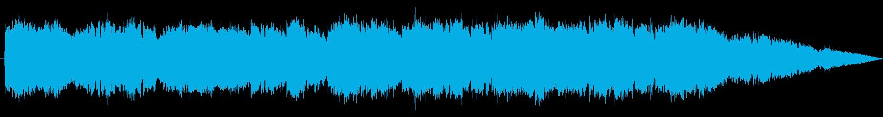 ジングル - 宇宙空間の再生済みの波形