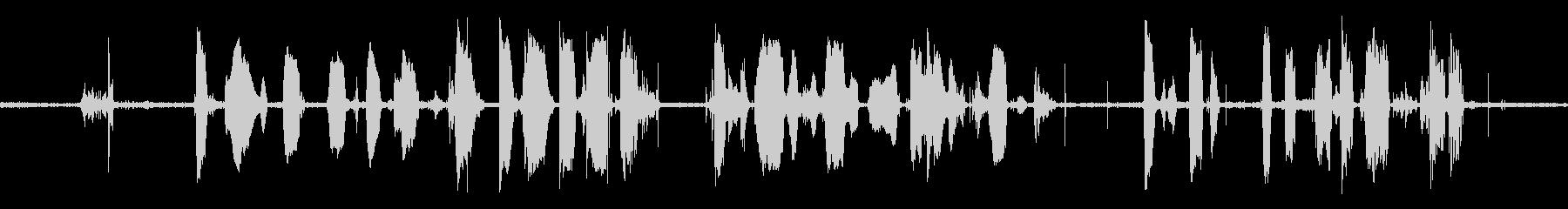 火星探査機:ラジオで準備トークを開始の未再生の波形
