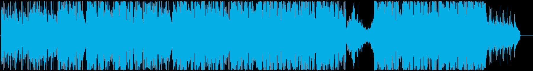 郵便飛行機の再生済みの波形