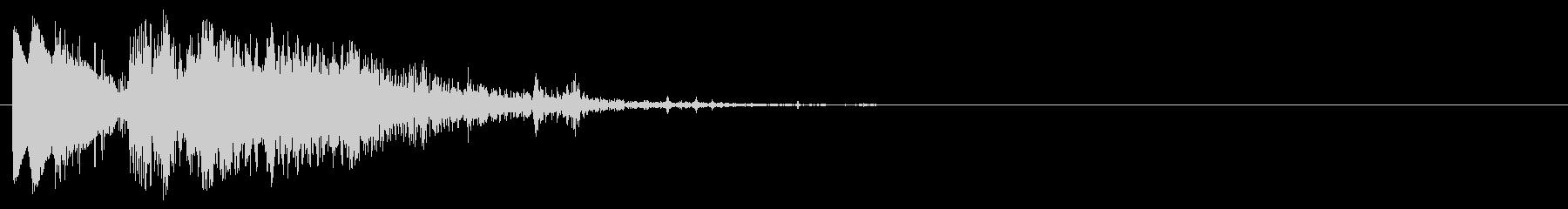 スミス&ウェッソンモデル19、.3...の未再生の波形