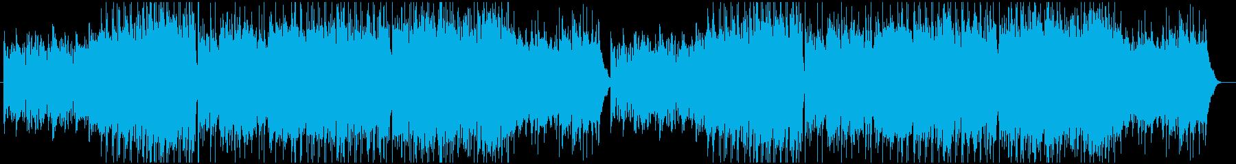 切ないケルト曲の再生済みの波形