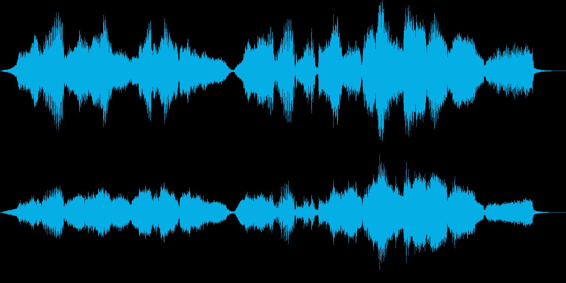悲壮感と希望の木管四重奏・ソロフルートの再生済みの波形