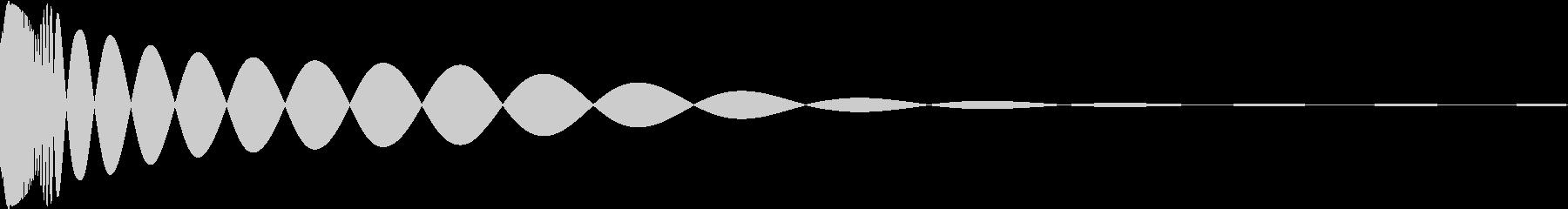 DTM Kick 46 オリジナル音源の未再生の波形