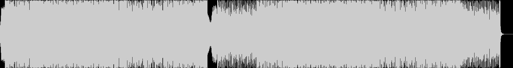 アグレッシブでダンサブルなエレクトロの未再生の波形