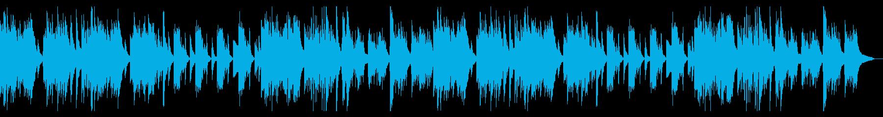 怪しげで切ないピアノ曲の再生済みの波形