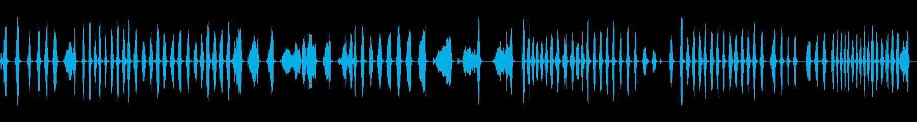 カーペットクリーニングのコーンブル...の再生済みの波形