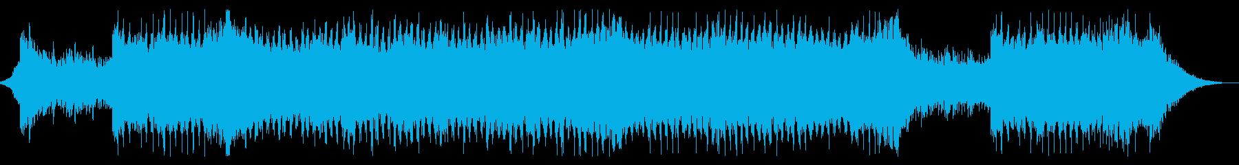 壮大・疾走感あるシンセポップの再生済みの波形