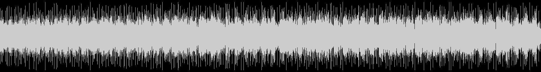 ゲームの氷の洞窟のシーンをイメージした曲の未再生の波形