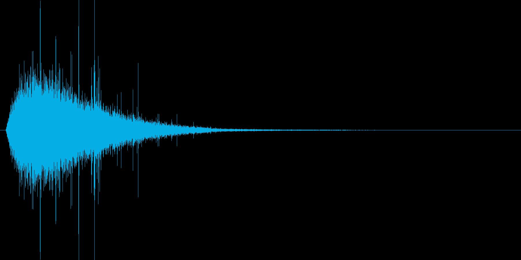 シュー・・・(氷魔法、詠唱、冷やす)の再生済みの波形