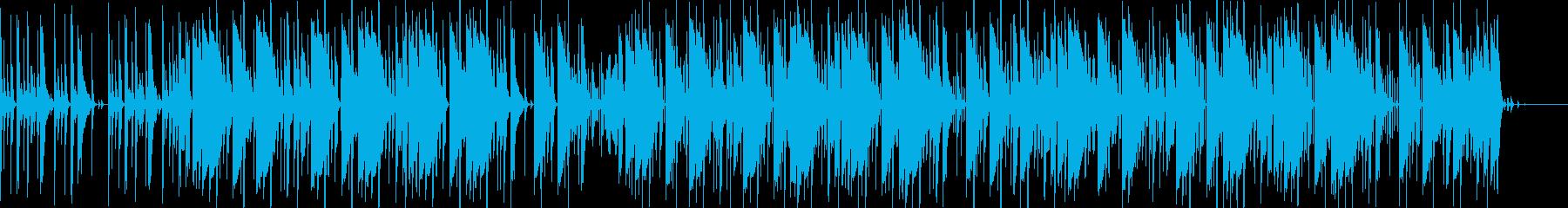 トラップ ヒップホップ レトロ 積...の再生済みの波形