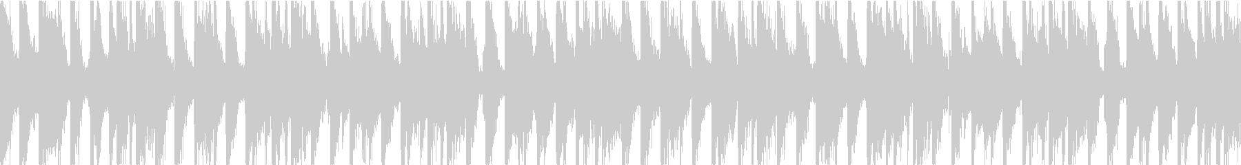 ハッピーで可愛い雰囲気 Loop用の未再生の波形