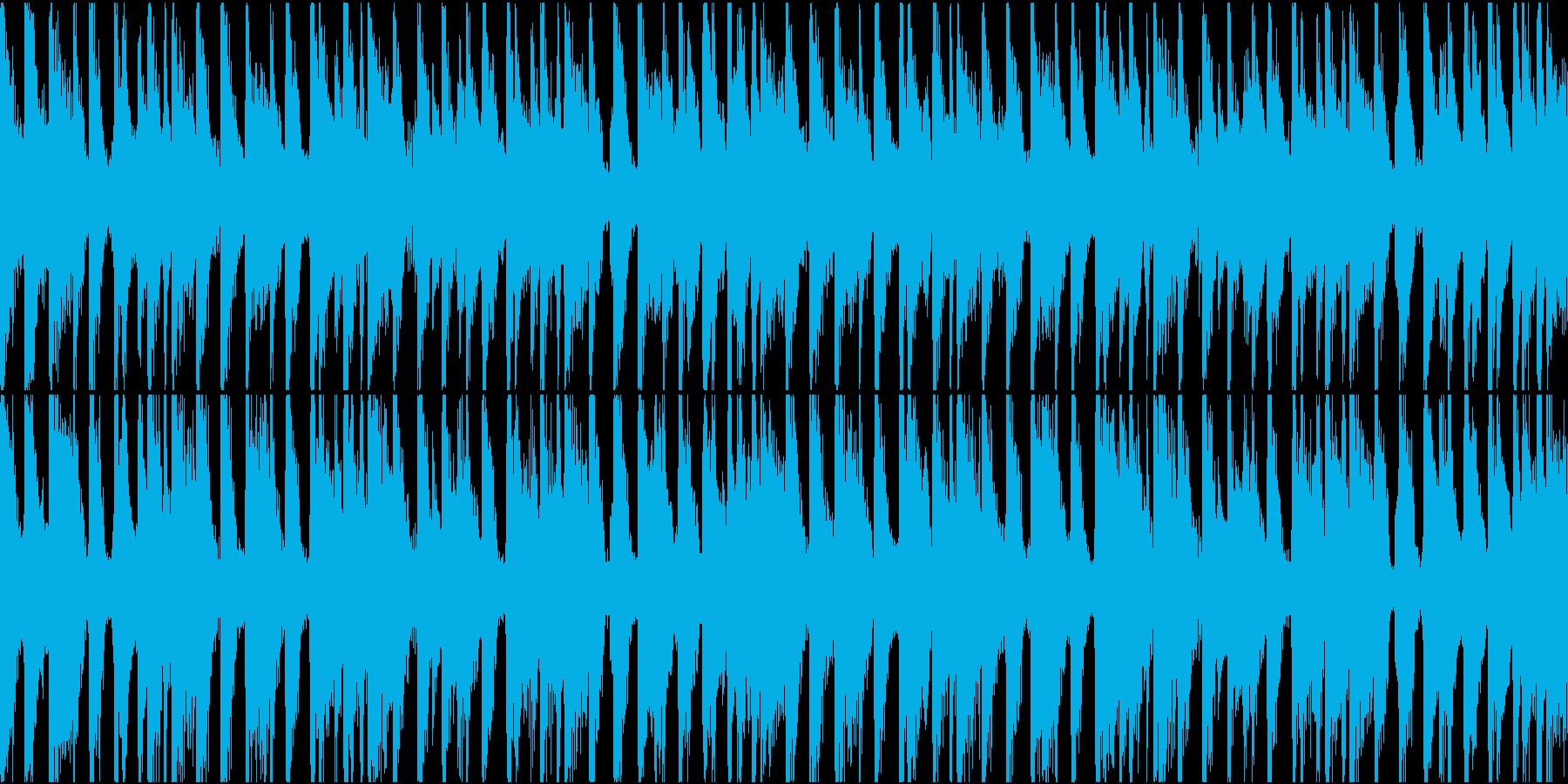 ハッピーで可愛い雰囲気 Loop用の再生済みの波形