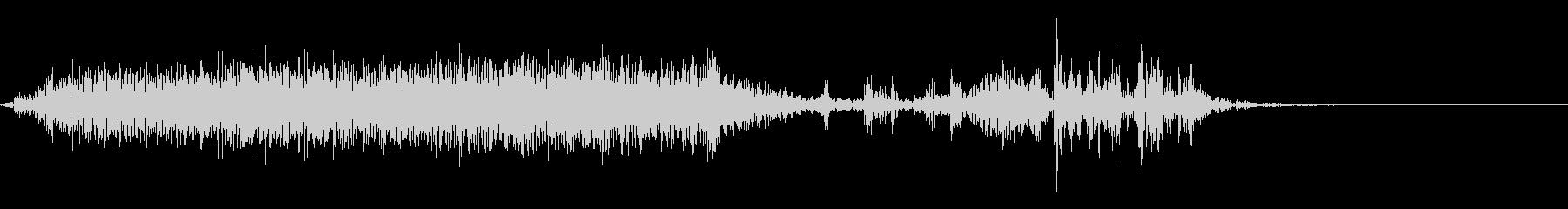 【生録音】本のページをめくる音 3の未再生の波形