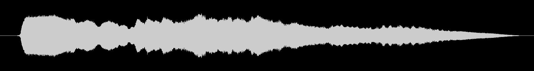 漫画スライドホイッスル:ダウン、ホ...の未再生の波形
