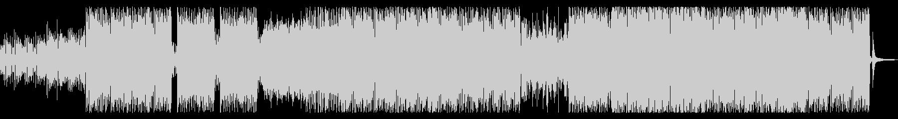 爽やかな ボサノバ ドラムンベースの未再生の波形