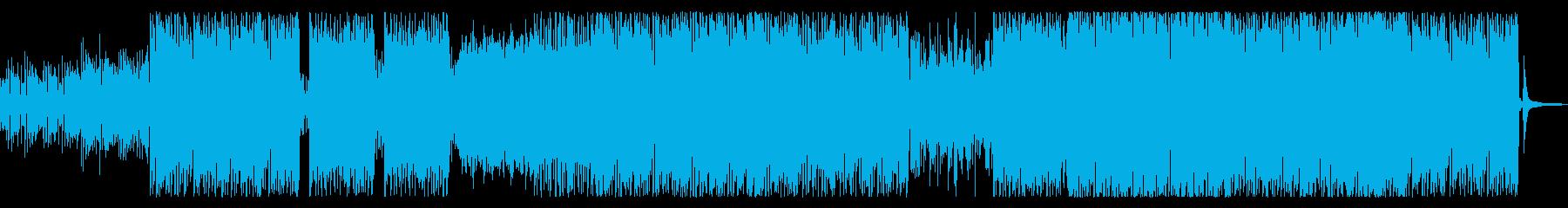 爽やかな ボサノバ ドラムンベースの再生済みの波形