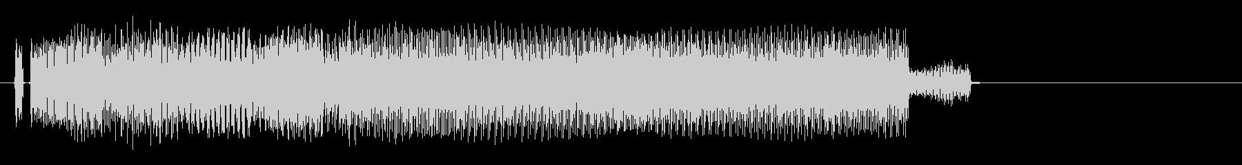 パラリラパー(場面転換、タイトルコール)の未再生の波形