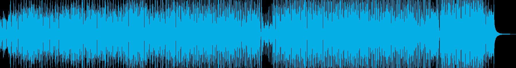 チェンバロ・ディズニー風パレードポップの再生済みの波形