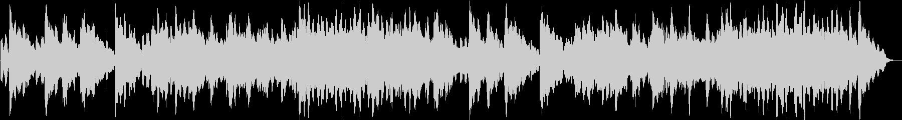 切ないシンセサイザーサウンドの未再生の波形